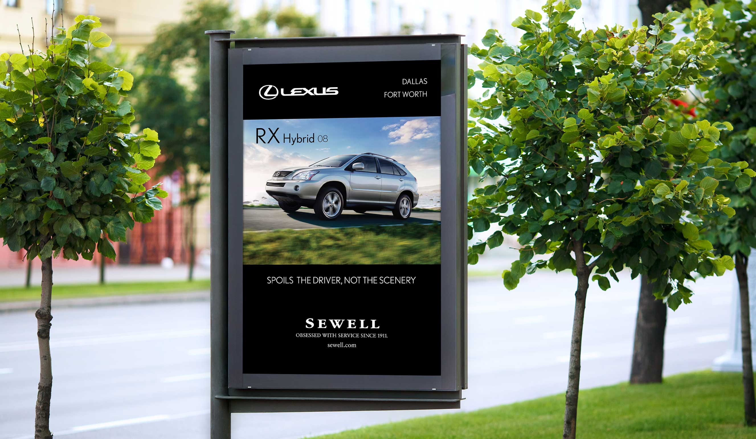 Lexus Dealership Sign